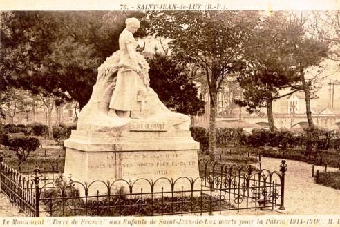 Monument aux morts Saint Jean de Luz